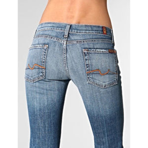 7 Seven For All Mankind Jeans Bootcut Medium Rise